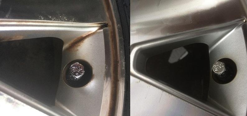 ホイール手洗いサービス 静岡市清水区 ミスタータイヤマン青山